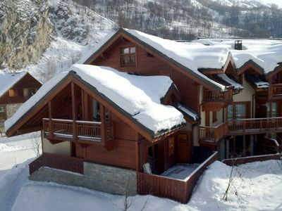Photo for Individual chalet. 6-8 people. 4 bedrooms