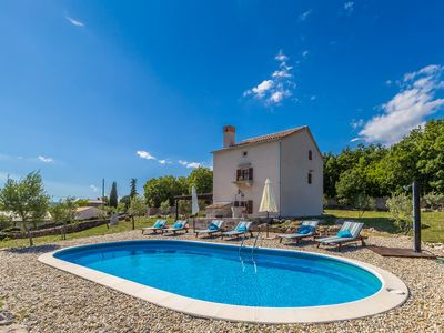 Photo for Beautiful and comfortable holiday home in Bajcici, Island Krk, Croatia  with private pool for 8 persons