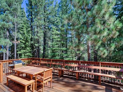 Photo for Tahoe Donner Cabin Retreat with Luxurious Amenity Access Nearby