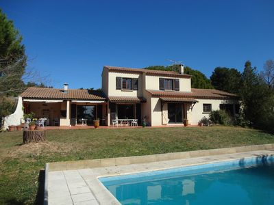 Photo for Large House with Private Pool on 2600m² Garden