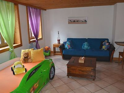 Photo for One bedroom Apartment, sleeps 4 in Rossinière