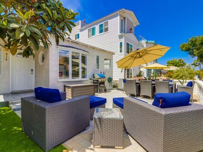 Photo for ☀️NEW LISTING 🏖2018 Remodeled Family Beach Home, Sunny Private Patio!
