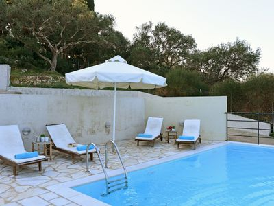 Photo for VILLA THALIA, 2BEDROOM VILLA IN LOGGOS, PAXOS