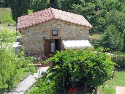 Photo for One bedroom Villa, sleeps 4 in Sasso Pisano with Air Con and WiFi