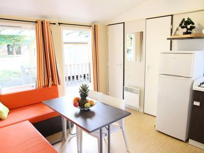 Photo for Camping l'Ile du Pont *** - 3-room mobile home 4/6 people