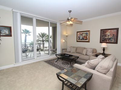 Photo for Indigo East 302- Beach Front View with Luxurious Interior and Amenities