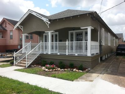 Photo for Master bedroom for rent in a totally renovated house. Wooden Front porch