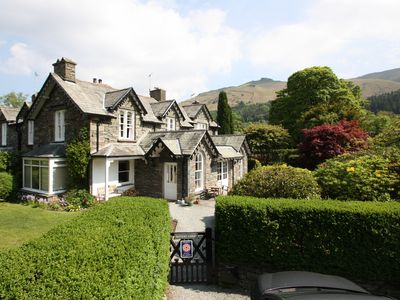 Photo for Rothay Lodge - in a quiet part of Grasmere with lovely gardens & glorious views