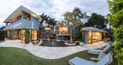 Photo for Luxurious architecturally designed 4 bedroom property on Byron's Main Beach