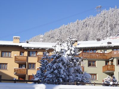 Photo for Apartment in the center of Saint Moritz with Lift, Parking, Internet, Washing machine (62849)