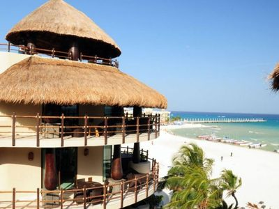Photo for Winner of Top 25 in Luxury in All of Mexico -Oceanfront- DIRECT VIEW PH -3/3 Beach Club #0