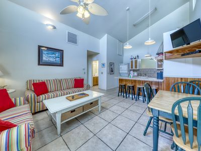 Photo for Dog-friendly condo w/ a shared pool, great beach vibes, & stunning views!