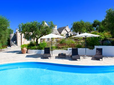 Photo for Trullo With Private Pool (15x7), WI-FI free,tennis table,mountain bike available