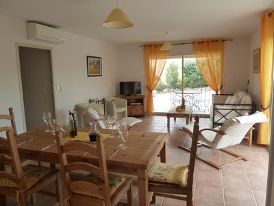 Photo for 3 Bedroom 2 Bathroom Family Villa With Wi-Fi and Air Conditioning, shared pools.