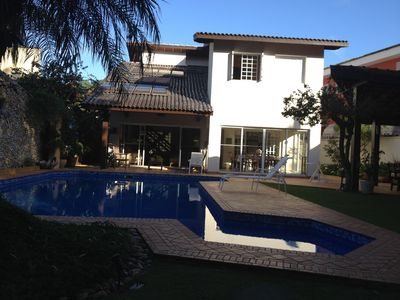 Photo for BEAUTIFUL HOUSE 6 DORM BEING 4 SUITES -AR CONDIC, SWIMMING POOL, GOURMET AREA, SAUN