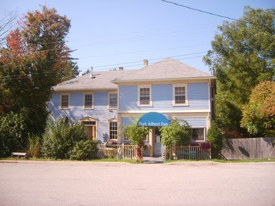 Photo for Historic Inn Vacation Rental.  A short walk to the sandy beach and the waterfalls!