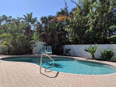 Photo for Ground level 6 Bedroom Pool Home only 6 houses to beach
