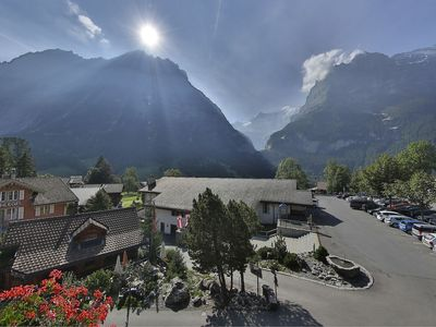 Photo for Apartment in the center of Grindelwald with Lift, Parking, Internet, Balcony (38039)