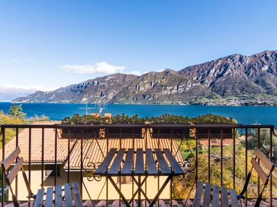 Photo for Villa near Bellagio, with stunning lake view, garden and private parking