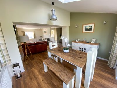 Photo for New for 2020 Modern barn conversion sleeps up to 8 people. Close to Alton Towers