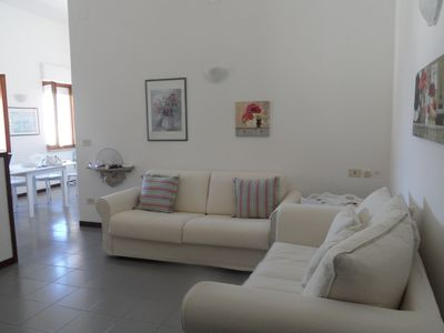 Photo for At the center of Alghero, sea view apartment just a step from the port.