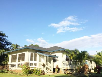 Photo for Plantation Beach House - Steps From Poipu Beach, 3 Bed, Pool
