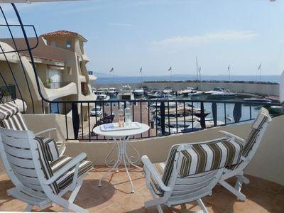 Photo for Apartment 481 m from the center of Théoule-sur-Mer with Internet, Pool, Washing machine (968945)