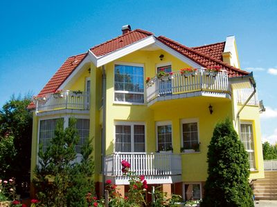 Photo for Holiday apartment with 5 balconies and garden pavilion