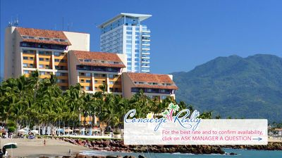Photo for Beach-vibe Studio, Club Regina Puerto Vallarta, oceanfront resort. Click to book