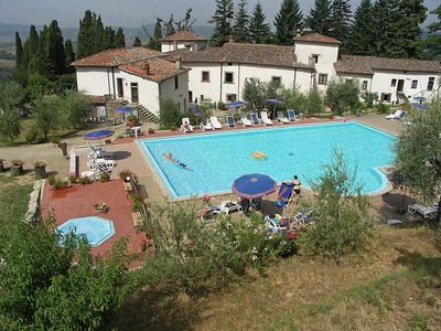 Photo for Apartment in Pelago with Pool, Garden (125763)