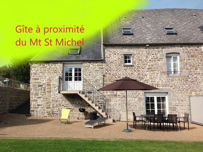 Photo for Seasonal rental for 4/6 people near the Mont Saint Michel