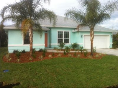 Photo for New Feb 2013 single family home 1 block to uncrowded beach