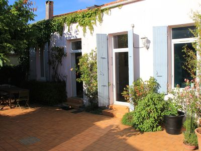 Photo for Charming House in the heart of Fouras with Nordic bath