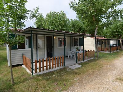 Photo for Mobile home in the middle of nature at only 200mt from the beach