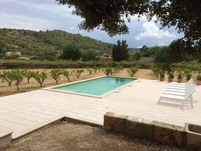 Photo for Secluded Villa with Pool, Wi-Fi, Air Conditioning and Terrace; Parking available