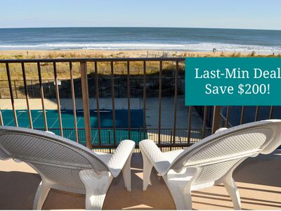 Photo for Affordable 2-BR Oceanfront - Wi-Fi, Pool, Smart TV & Gr8 Views! (84th St)