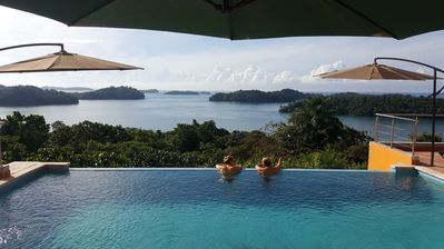 Photo for BOCA CHICA BAY ECO LODGE : 'GOLDEN FROG' Luxury Queen Pool Level Suite #1