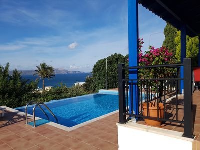 Photo for Sea view Villa Jasmin Infiniti pool