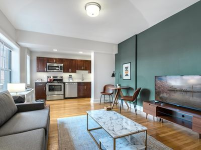 Photo for Tailored Dupont Circle 1BR w/ Gym, Lounge, near Metro, by Blueground