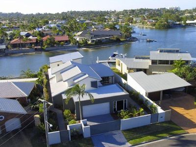 Photo for Remarkable six bedroom waterfront home... save $110 per night in February 2018