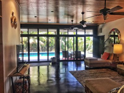 Photo for (👉Contact Host) Incredible View, Luxury Ocean Front Home W/Pool, AC, Sleeps 9