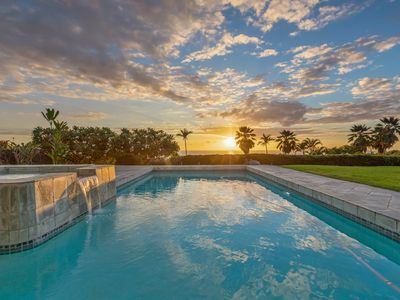 Photo for 1level, private pool, walk to beaches, gated community
