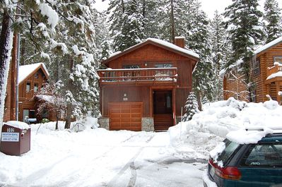 Winter at Agatam Lodge