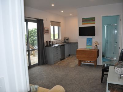 Photo for Papamoa beach flat with beach opposite