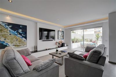 Bright and Spacious Open Plan Living Space Which Looks Out To The Terrace