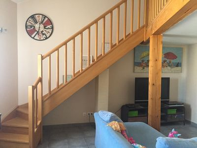 Photo for Bright apartment, cozy, perfect family. 80M2, 3 bedrooms, private garage