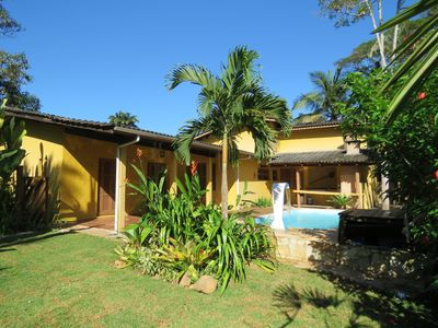 Photo for House with swimming pool at 120m from Itamambuca beach!
