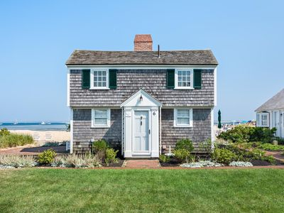 Photo for Quintessential Waterfront Delft Haven Cottage  w/ Private Beach. A Must See!!!