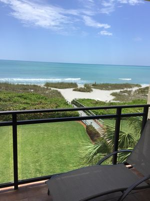 Photo for Ocean front condo on private beach