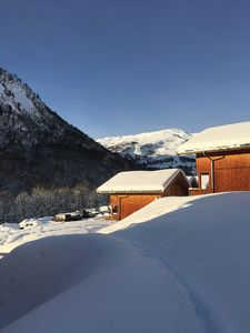 Photo for Saint Sorlin. Mountain, skiing, relaxation and swimming pool at Sybelles. For 4 people.